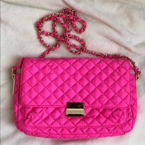 XXI Neon Pink Crossbody / Shoulder Bag
